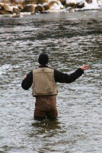 Winter Fly Fishing Northern California