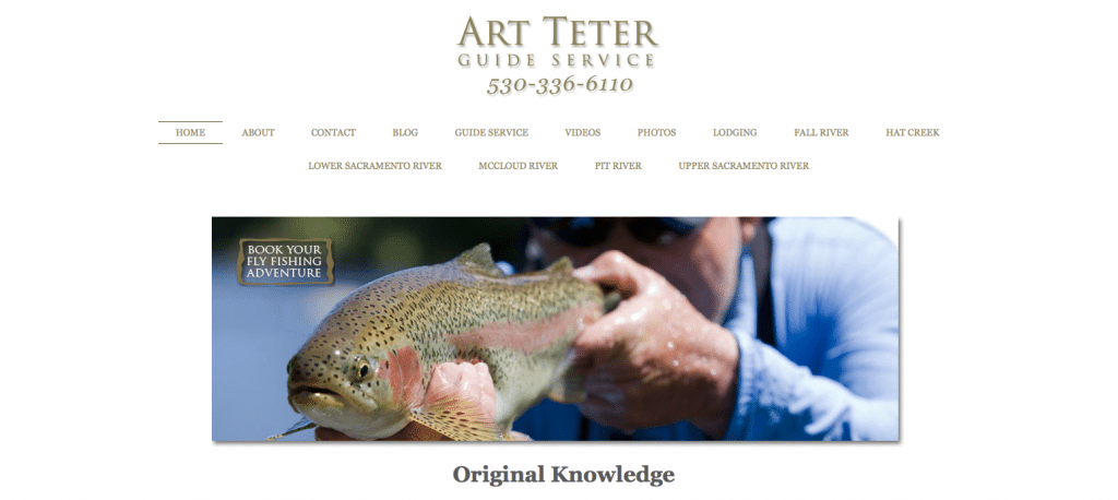 Art Teter Guided Fly Fishing