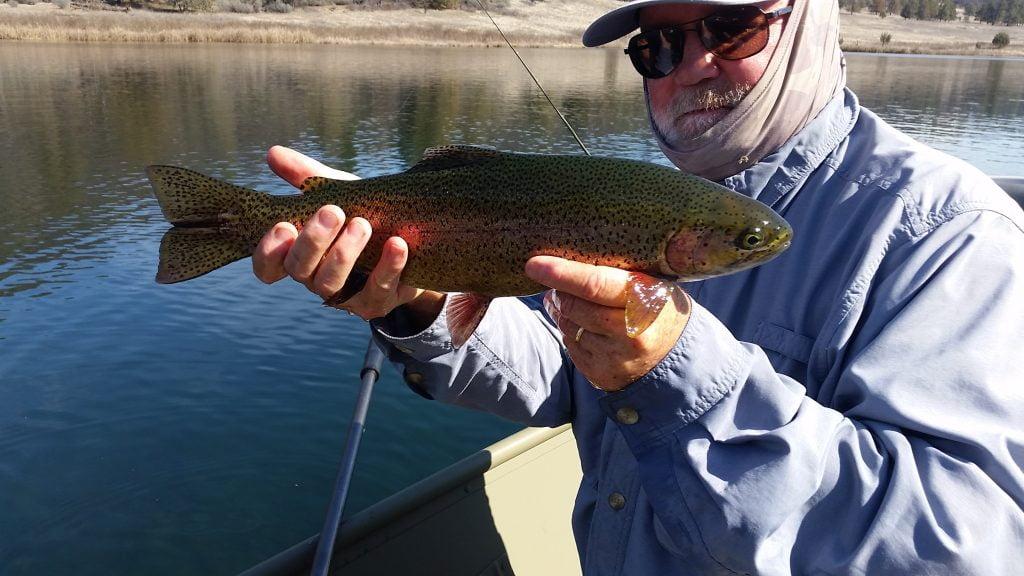 Baum Lake - Art Teter Fly Fishing