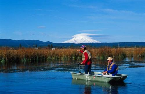 mt shasta fly fishing art teter guide service